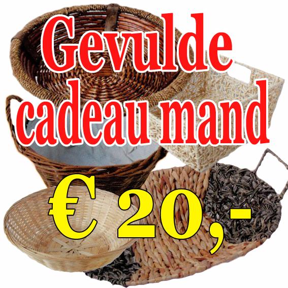 Cadeaumand 20 euro
