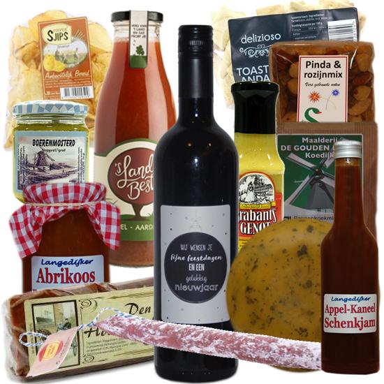 Kerstpakketten met streekproducten